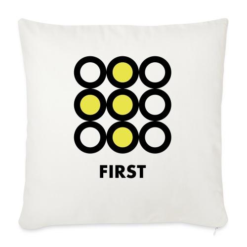 First - Copricuscino per divano, 45 x 45 cm