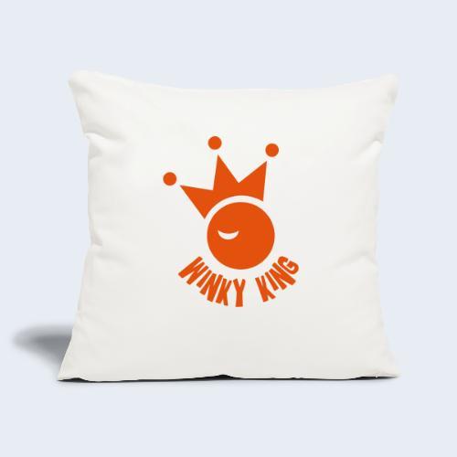 Winky King Logo - Sierkussenhoes, 45 x 45 cm