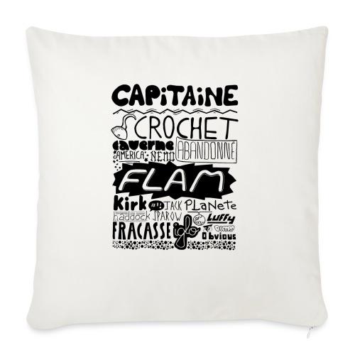 capitaine - Housse de coussin décorative 45x 45cm