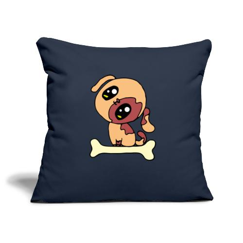 Kawaii le chien mignon - Housse de coussin décorative 45x 45cm