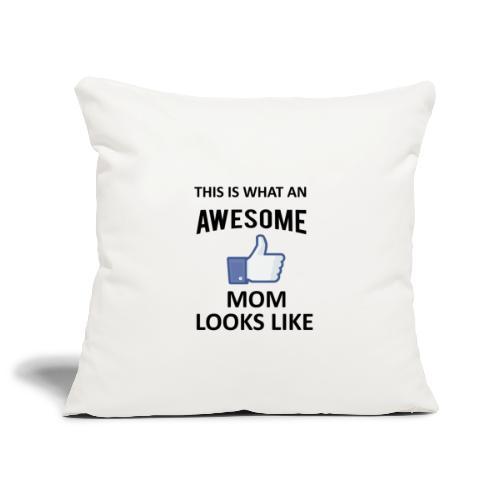 Awesome Mom - Sofakissenbezug 44 x 44 cm