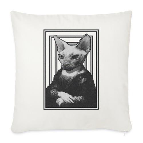 CAT LISA - Funda de cojín, 45 x 45 cm