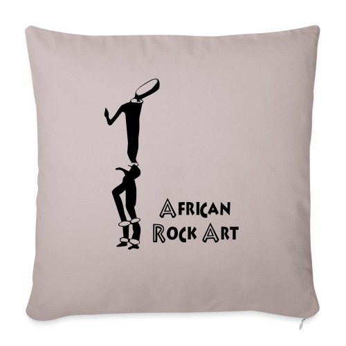 African Rock Art - Sohvatyynyn päällinen 45 x 45 cm