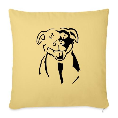Staffordshire Bull Terrier - Sohvatyynyn päällinen 45 x 45 cm