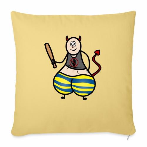 Devil No Touchies Charlie - Sofa pillowcase 17,3'' x 17,3'' (45 x 45 cm)