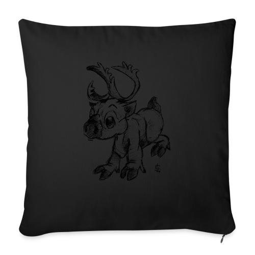 Caribou - Housse de coussin décorative 45x 45cm