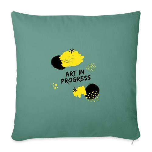 Art in Progress - Copricuscino per divano, 45 x 45 cm