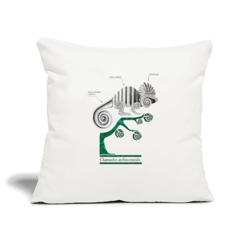 chameleo architecturalis - Housse de coussin décorative 45x 45cm