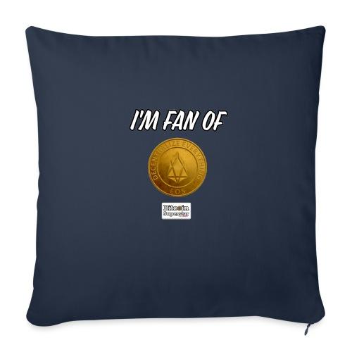 I'm fan of Eos - Copricuscino per divano, 45 x 45 cm