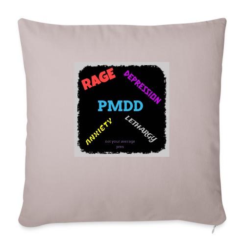 Pmdd symptoms - Sofa pillowcase 17,3'' x 17,3'' (45 x 45 cm)