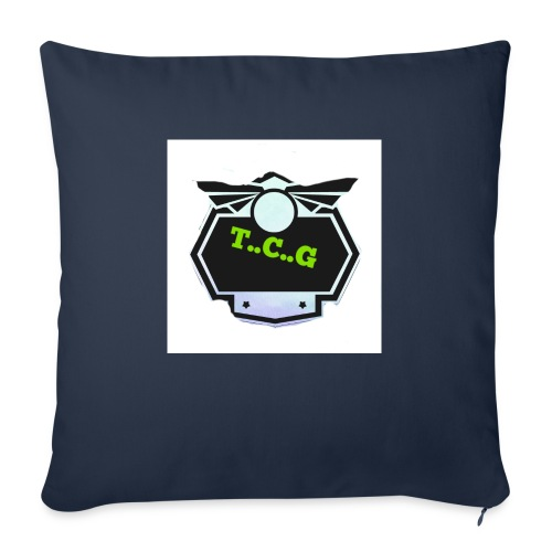 Cool gamer logo - Sofa pillowcase 17,3'' x 17,3'' (45 x 45 cm)