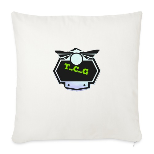 Cool gamer logo - Sofa pillowcase 17,3'' x 17,3'' (45 x 45 cm)