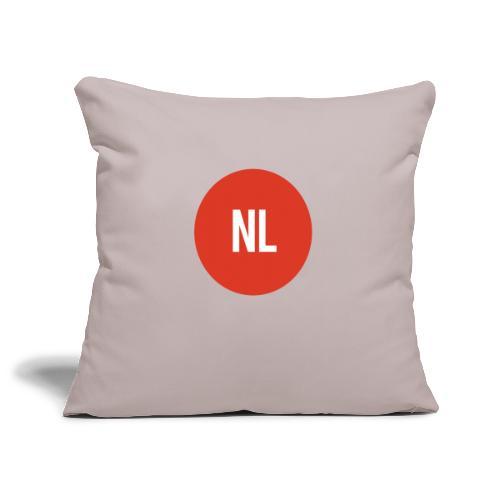 NL logo - Sierkussenhoes, 45 x 45 cm