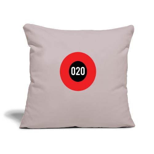 020 logo - Sierkussenhoes, 45 x 45 cm