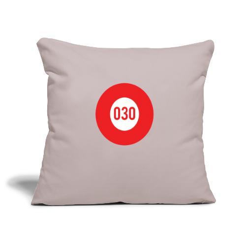 030 logo - Sierkussenhoes, 45 x 45 cm