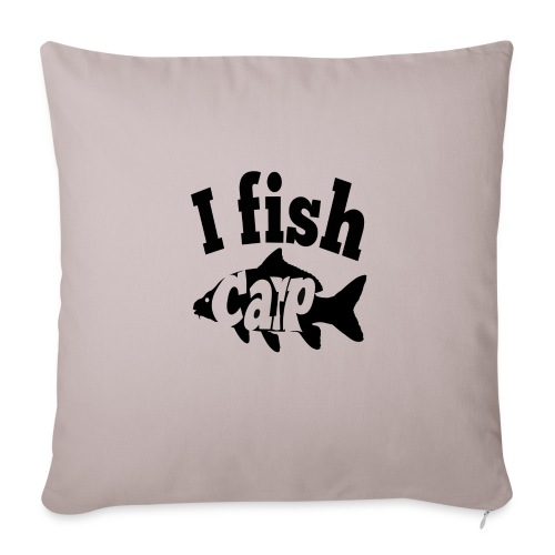 i fish carp - Sierkussenhoes, 45 x 45 cm