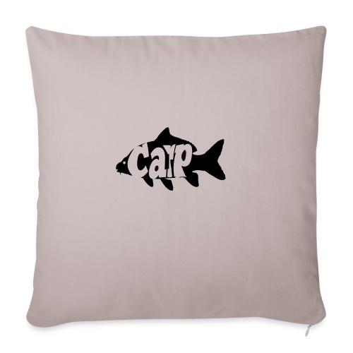 carp fish - Sierkussenhoes, 45 x 45 cm