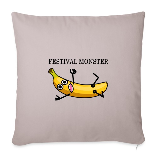 Festival Banane - Sofakissenbezug 44 x 44 cm