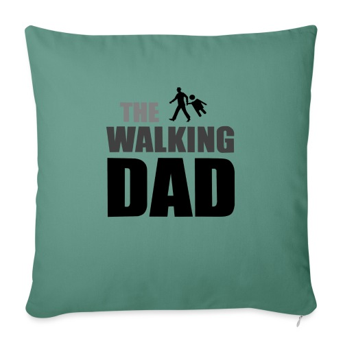 the walking dad auf dem Weg in die lustige Bar - Sofakissenbezug 44 x 44 cm