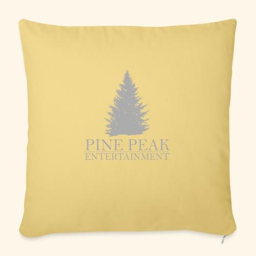 Pine Peak Entertainment Grey - Sierkussenhoes, 45 x 45 cm