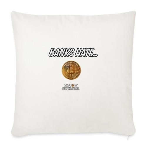 Baks hate - Copricuscino per divano, 45 x 45 cm