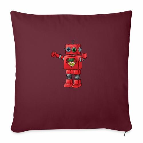 Brewski Red Robot IPA ™ - Sofa pillowcase 17,3'' x 17,3'' (45 x 45 cm)