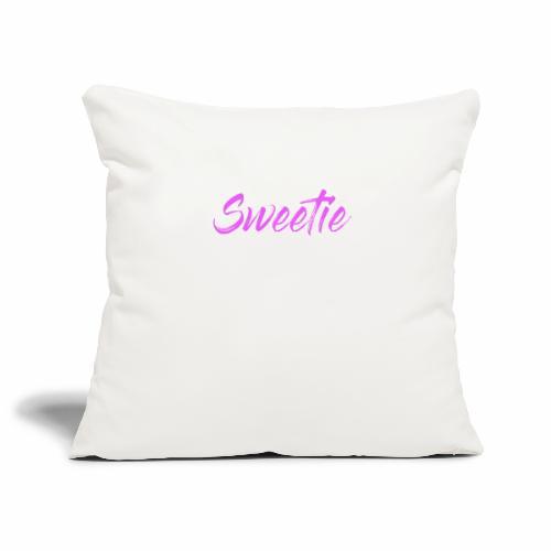 Sweetie - Sofa pillowcase 17,3'' x 17,3'' (45 x 45 cm)
