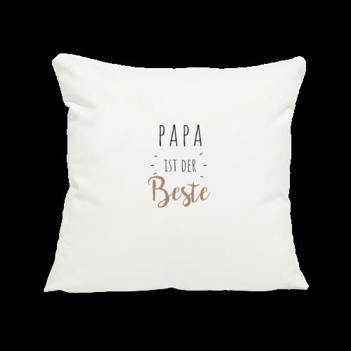 Papa ist der beste - Sofakissenbezug 44 x 44 cm