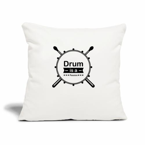 Drum is a passion - Sofakissenbezug 44 x 44 cm