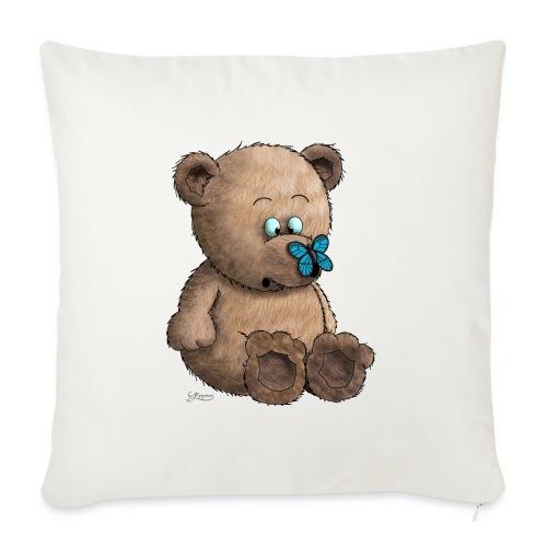 Teddybär - Sofakissenbezug 44 x 44 cm