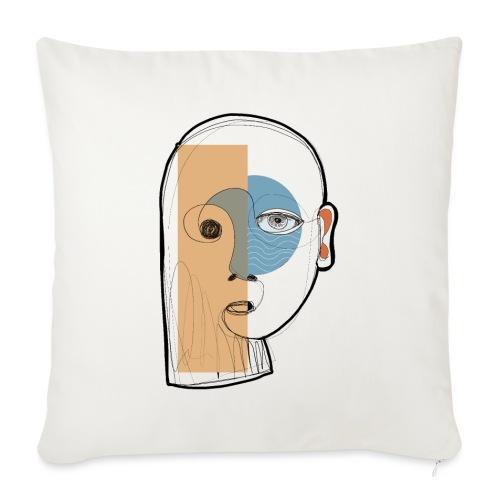 portrait - Copricuscino per divano, 45 x 45 cm