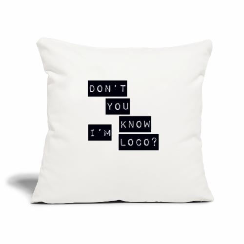 Loco - Sofa pillowcase 17,3'' x 17,3'' (45 x 45 cm)