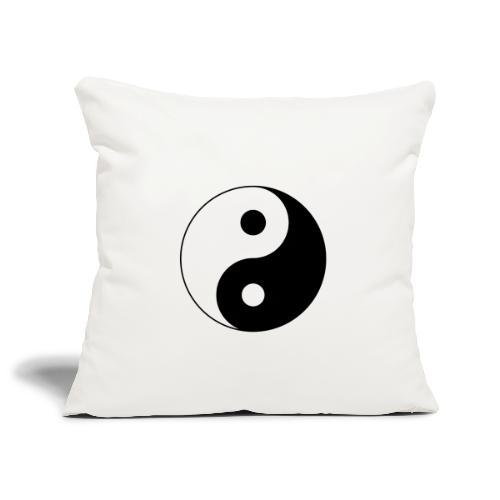 Yin Yang balance in life - Sofa pillowcase 17,3'' x 17,3'' (45 x 45 cm)