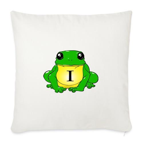 IndirectHat -LOGO- - Copricuscino per divano, 45 x 45 cm