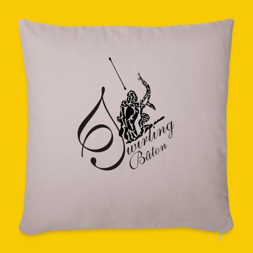 twirling b 2 - Housse de coussin décorative 45x 45cm