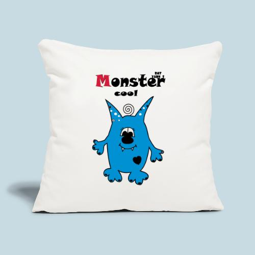 Monstercool - Sofakissenbezug 44 x 44 cm
