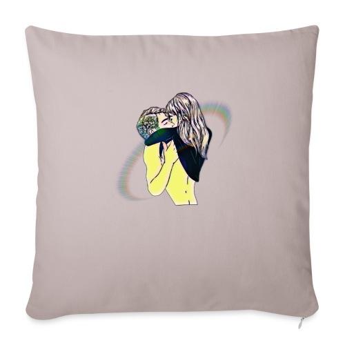 Innamorati - Copricuscino per divano, 45 x 45 cm