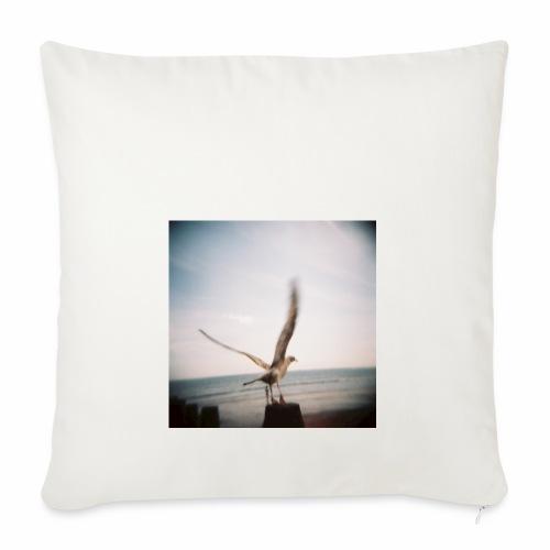 Original Artist design * Seagull - Sofa pillowcase 17,3'' x 17,3'' (45 x 45 cm)