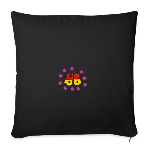 Butterfly colorful - Sofa pillowcase 17,3'' x 17,3'' (45 x 45 cm)