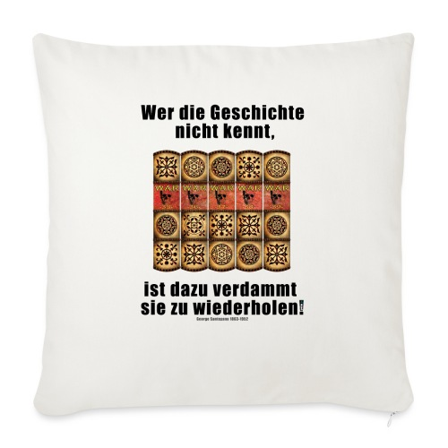 71_Geschichte_ - Sofakissenbezug 44 x 44 cm