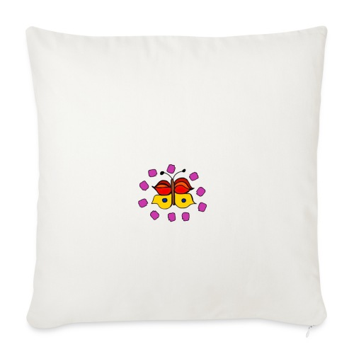 Butterfly colorful - Sofa pillowcase 17,3'' x 17,3'' (45 x 45 cm)