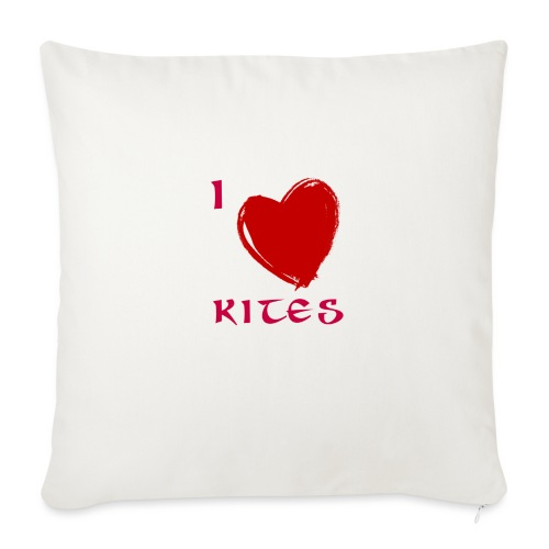 love kites - Sofa pillowcase 17,3'' x 17,3'' (45 x 45 cm)