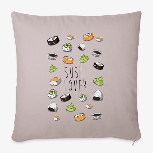 Sushi lover - Housse de coussin décorative 45x 45cm