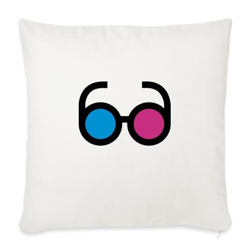 lps lunettes - Housse de coussin décorative 45x 45cm