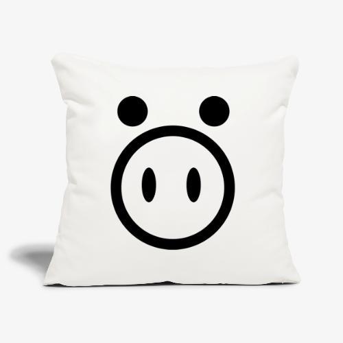 pig - Poszewka na poduszkę 45 x 45 cm