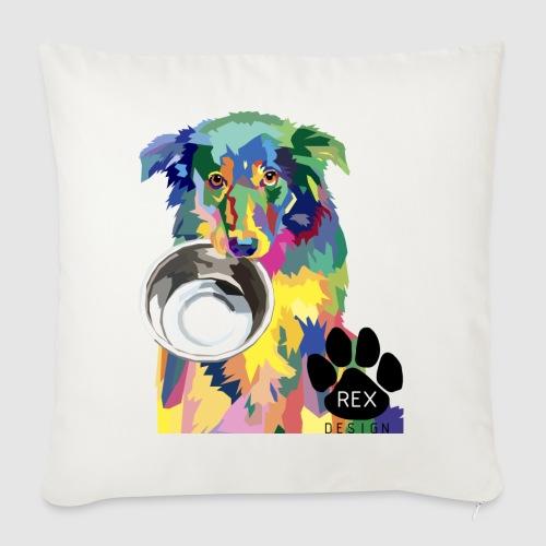 #AdoptDontShop - Sofa pillowcase 17,3'' x 17,3'' (45 x 45 cm)
