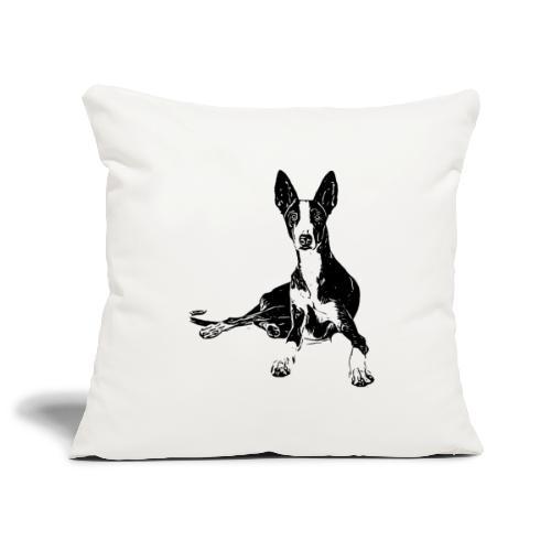 Podenco Hunde Design Geschenkidee - Sofakissenbezug 44 x 44 cm