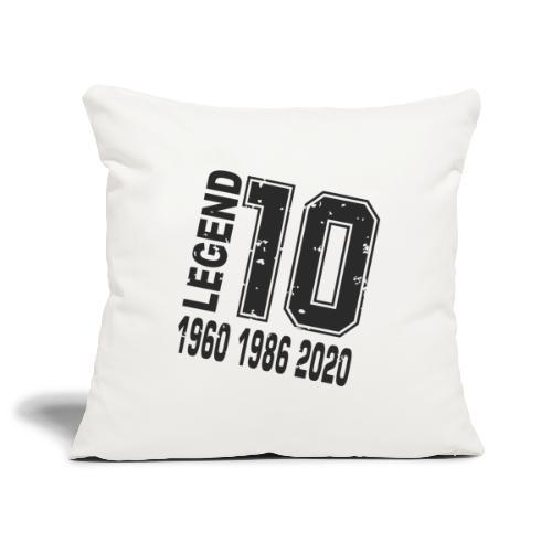 Legend 10 - Funda de cojín, 45 x 45 cm