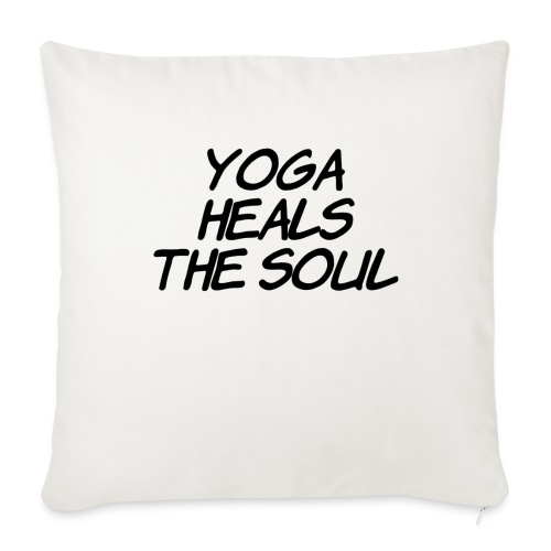 yoga - Sierkussenhoes, 45 x 45 cm