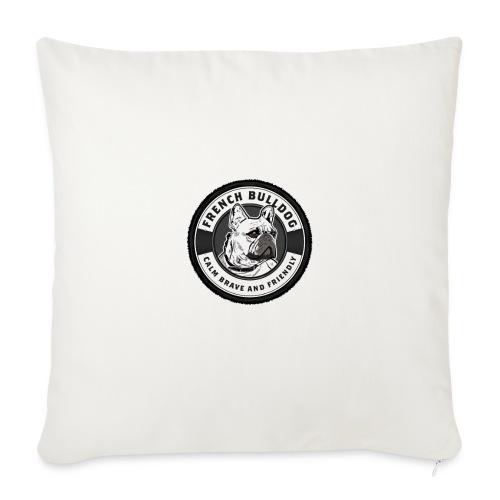 Calme & Brave - Housse de coussin décorative 45x 45cm